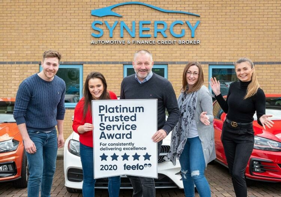 Synergy Car Leasing Achieves Platinum Status